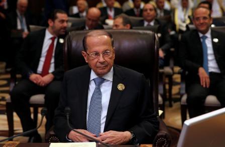 Президент Ливана после паден…