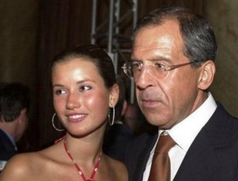 Дочь Сергея Лаврова впервые …
