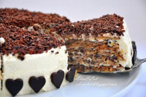 Итальянский ореховый торт. Б…