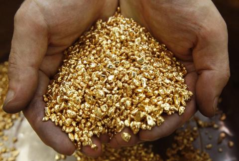 Золото из трубы