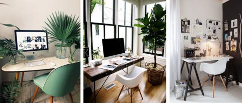 Организация рабочего места дома. Домашний офис. Фото. Идеи.