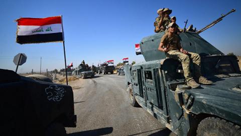 При продвижении армии Ирака к Киркуку погибли семнадцать бойцов пешмерга