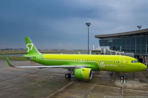 S7 Airlines первой в России …