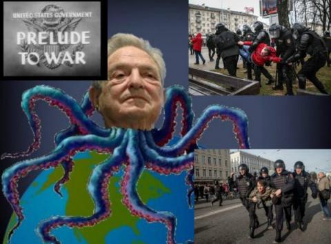 Акции протеста в Москве фина…