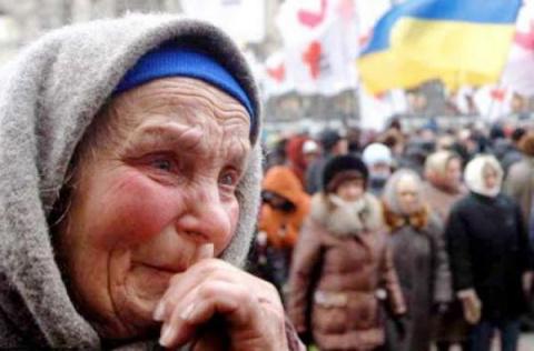 Двести тысяч стариков на Укр…