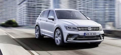 Новый Volkswagen Tiguan пред…