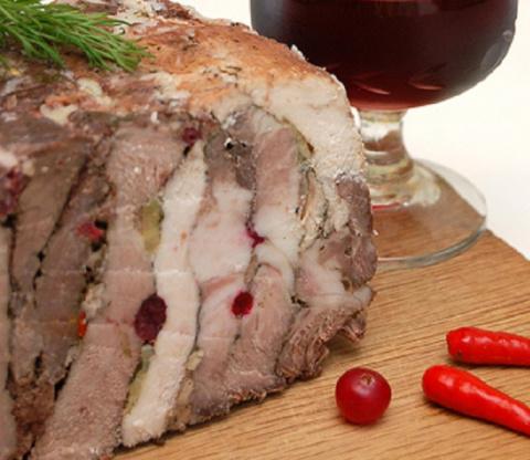 «Мясное ассорти» - невероятно вкусная домашняя буженина!