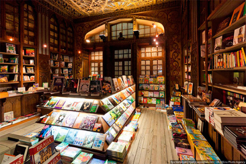 Другой мир: В Китае открыли необычный книжный магазин