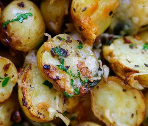 Итальянский Жареный картофел…