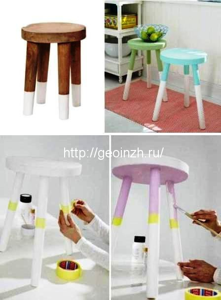 Как обновить старую мебель с…