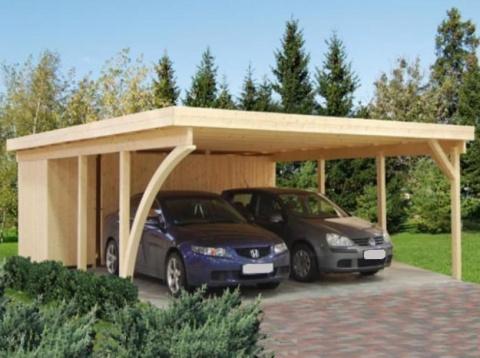 Идея парковки машин на даче