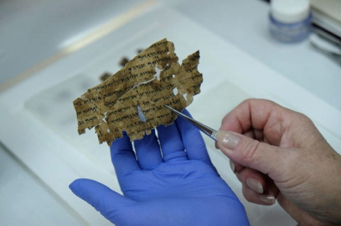 В Израиле расшифровали один из последних свитков Мертвого моря