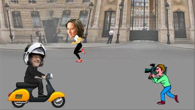 Более 90 тысяч человек «залайкали» игру о президенте Франции и его любовнице