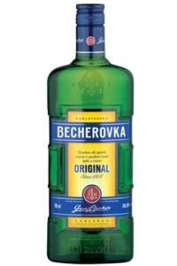 Спиртные напитки. Becherovka…