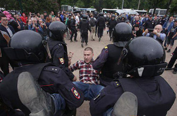 Журналист Минкин считает, что люди выходят на улицу не ради Навального