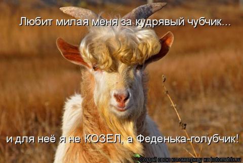 ВЕСЁЛАЯ КОЗЛоМАТРИЦА!!!