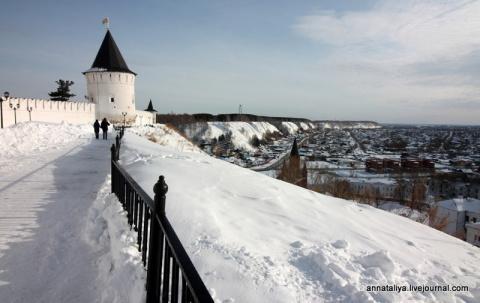 Тобольск. Единственный кремль Сибири