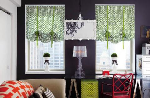 УЮТ. 10 вариантов штор для ваших окон