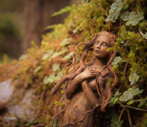 Духи природы в скульптурах п…