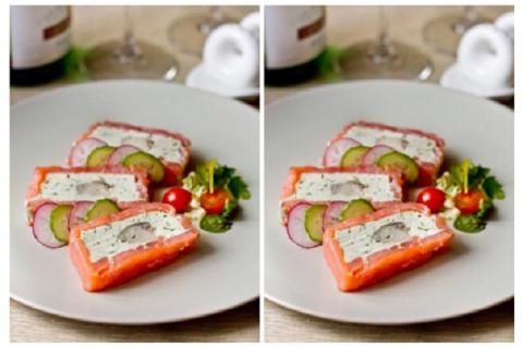 Восхитительный террин из рыбы со сливочным сыром. Божественно!