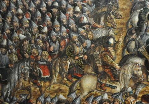 Образ воинов-«московитов» на картине «Битва под Оршей».