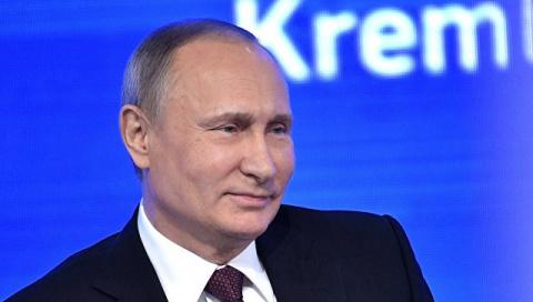 """Французский телеканал назвал 2016 год прошедшим """"под знаком Путина"""""""