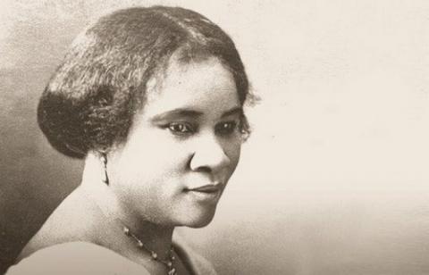 Сара Бридлав - первая в Америке афроамериканка-миллионер