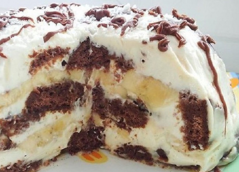 Изумительный торт без выпечк…
