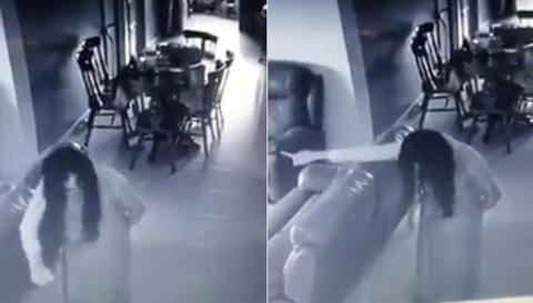 Одержимая домработница попала на видео