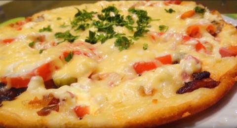 Тесто для пиццы «Молния»