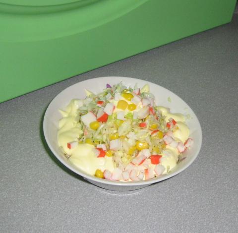 """салат из серии """"Быстро и просто"""""""