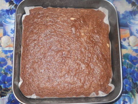Фото приготовления рецепта: Шварцвальдские пирожные - шаг №10