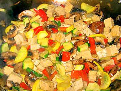 Тофу с овощами (китайский рецепт ). Фото-рецепт. Olga Dell