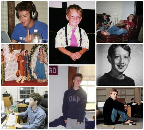 Детство нынешних миллиардеро…