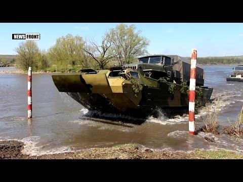 Военные ЛНР форсировали водный рубеж и закрепились на позициях условного врага