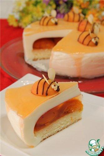 """Десертный вихрь. Торт """"Неправильный мёд"""""""