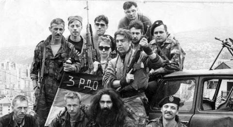 Русский доброволец — о война…