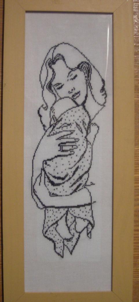 Мать и дитя.
