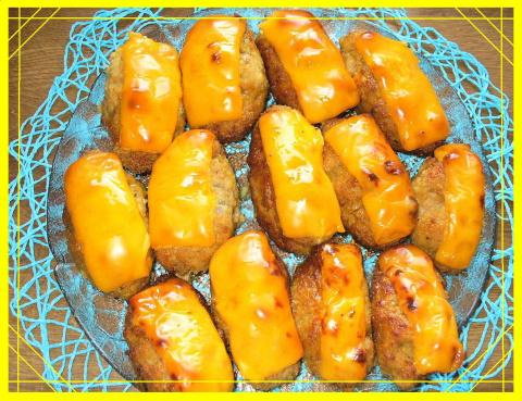 Котлеты из  духовки с сыром и  грецким орехом. Фото-рецепт. Olga Dell