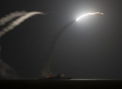 Ракетный удар США по Сирии: …