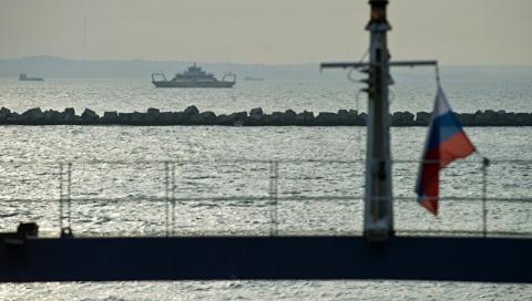 В Крыму оштрафовали танкер за нарушения при пересечении границы с Украиной 11:1615.03.2017