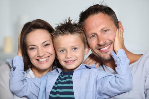 В вашей семье один ребенок? …