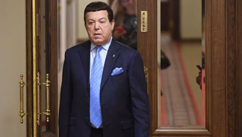 """Кобзон покинул коллегию Минкультуры """"из-за стыда перед избирателями"""""""