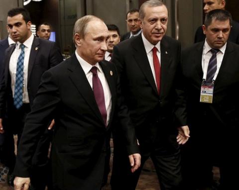 Путин и Эрдоган: игра с огне…