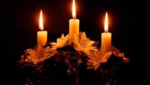 Очищение жилища свечой