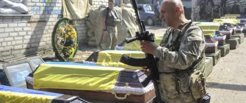 В Донбассе полностью уничтожена рота боевиков АТО — украинский волонтер