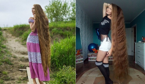 Российская Рапунцель: житель…