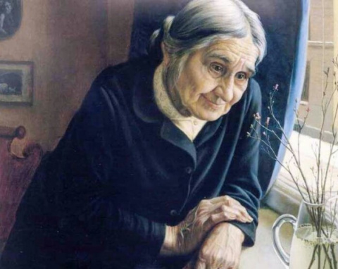 Бабушка Люба