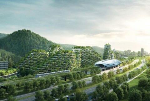 Китайцы строят первый в истории современный лесной город из 40 тыс. деревьев