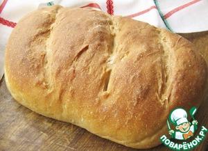 Хлеб на закваске с творогом